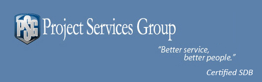 Project Services Group - Better service, better people.